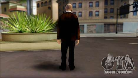 Ernesto para GTA San Andreas segunda tela