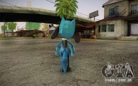 Riolu from Pokemon para GTA San Andreas segunda tela