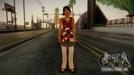 Billie from Stranglehold para GTA San Andreas