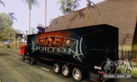 Trailer Chereau Morton Banda De 2014 para GTA San Andreas esquerda vista