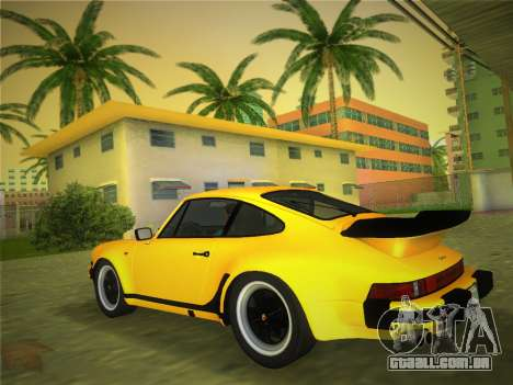 Porsche 911 Turbo 3.3 Coupe US-spec (930) 1978 para GTA Vice City deixou vista