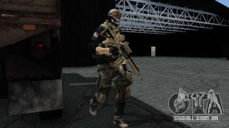 Army Ghost v2 para GTA San Andreas segunda tela