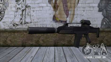 XM8 Compact Black para GTA San Andreas