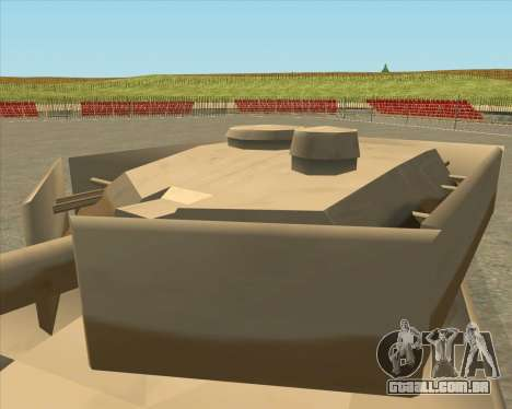 Dozuda.s Primary Tank (Rhino Export tp.) para GTA San Andreas vista direita