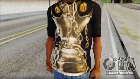 Randy Orton T-Shirt para GTA San Andreas terceira tela