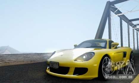 Porsche Carrera GT 2005 para GTA San Andreas vista interior