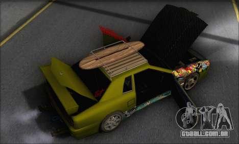 Doktor Style Elegy para vista lateral GTA San Andreas