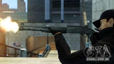 XM1014 para GTA 4 segundo screenshot