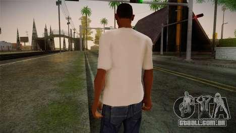 Lostsaga T-Shirt para GTA San Andreas segunda tela