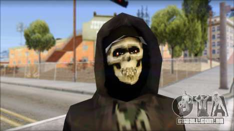Manhunt Skin para GTA San Andreas terceira tela