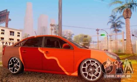 Opel Vectra C para GTA San Andreas esquerda vista