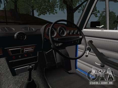 VAZ 21061 para GTA San Andreas vista interior