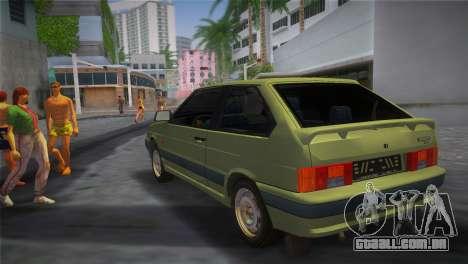 O VAZ-2113 para GTA Vice City deixou vista