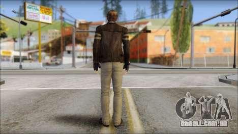 Leon Kennedy from Resident Evil 6 v3 para GTA San Andreas segunda tela
