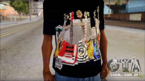 Guitar T-Shirt Mod v2 para GTA San Andreas terceira tela