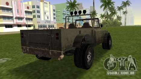 Bodhi from GTA 5 para GTA Vice City deixou vista