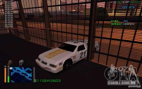 Andar através de paredes para GTA San Andreas terceira tela