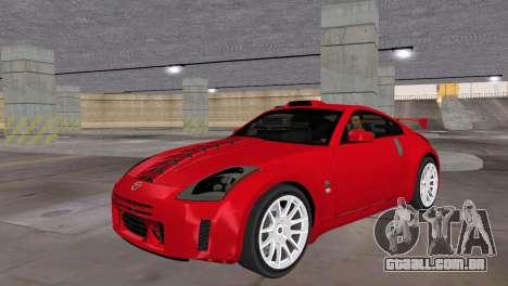 Nissan 350z Tuned para GTA Vice City