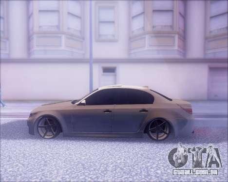 BMW M5 E60 para GTA San Andreas vista interior