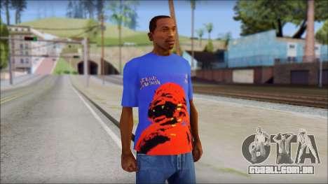 Black Sabbath T-Shirt v3 para GTA San Andreas