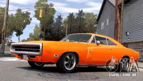 Dodge Charger RT 1970 para GTA 4