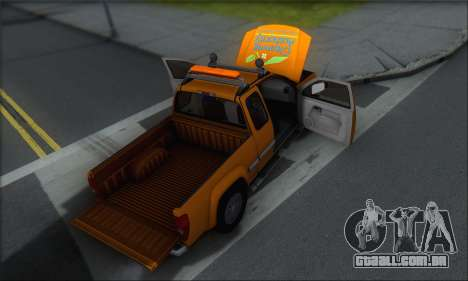 Chevrolet Colorado Cleaning para o motor de GTA San Andreas