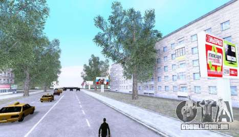 Russian Map 0.5 para GTA San Andreas terceira tela