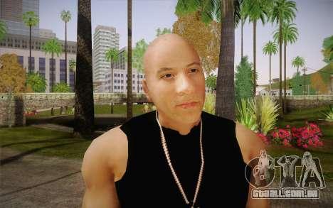 Domenic Toretto para GTA San Andreas terceira tela