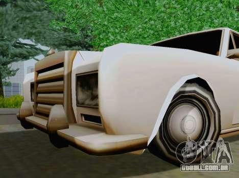 Stafford Limousine para GTA San Andreas vista direita
