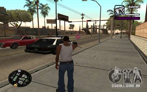 Hud by Videlka para GTA San Andreas segunda tela