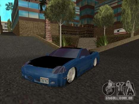 Alpha HD Cabrio para GTA San Andreas esquerda vista
