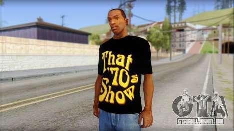 That 1970s Show T-Shirt Mod para GTA San Andreas