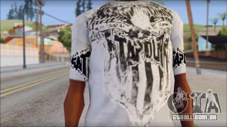 Tapout T-Shirt para GTA San Andreas terceira tela