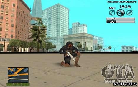 C-HUD by SampHack v.8 para GTA San Andreas terceira tela