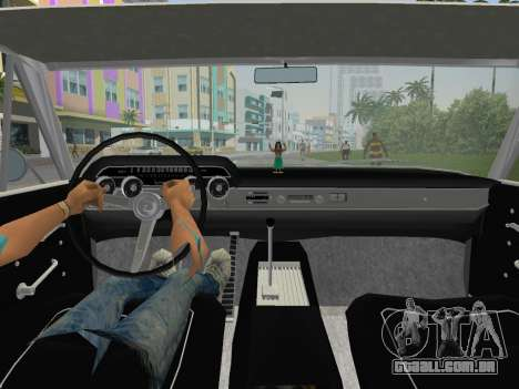 Mercury Park Lane 1964 para GTA Vice City vista traseira esquerda