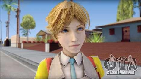Final Fantasy XIII - Alyssa para GTA San Andreas terceira tela