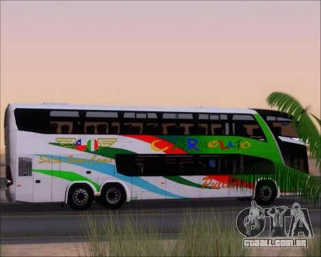 Marcopolo Paradiso G7 1800 DD 6x2 Scania K420 para as rodas de GTA San Andreas