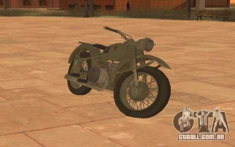 Ural M72 para GTA San Andreas