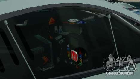 Honda HSV-010 GT para GTA 4 traseira esquerda vista