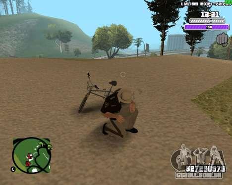 C-HUD by Weezy para GTA San Andreas por diante tela