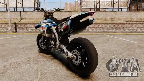 Yamaha YZF-450 v1.19 para GTA 4 traseira esquerda vista