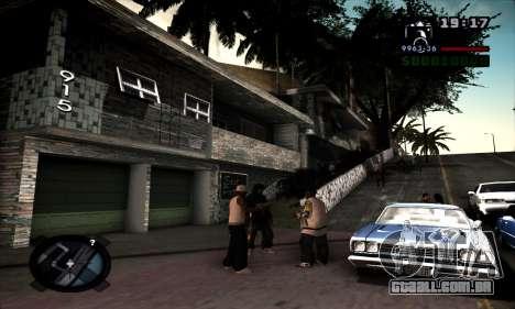 Ghetto ENB para GTA San Andreas segunda tela
