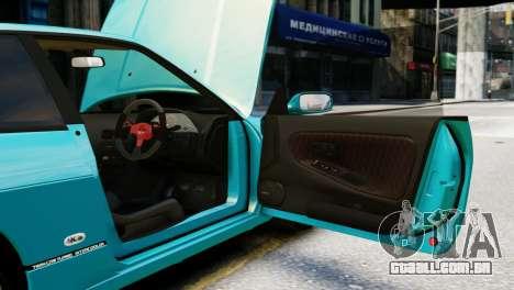 Nissan Silvia S13 v1.0 para GTA 4 vista interior