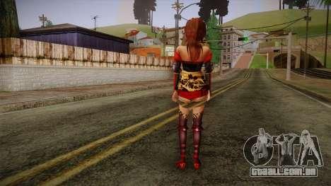 Kai from Samurai Warriors 3 para GTA San Andreas segunda tela