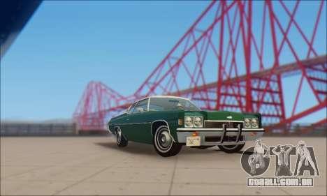 Chevrolet Impala 1972 para GTA San Andreas