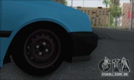 Volksvagen Golf Mk3 para GTA San Andreas vista direita