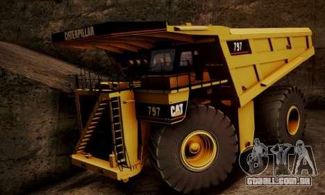 Caterpillar 797 para GTA San Andreas