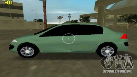 Renault Megane Sedan 2001 para GTA Vice City deixou vista