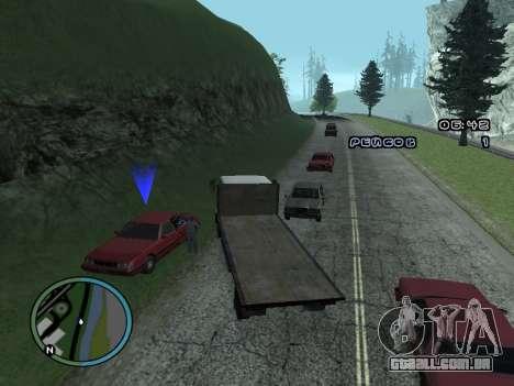 Evacuador v1.0 para GTA San Andreas quinto tela