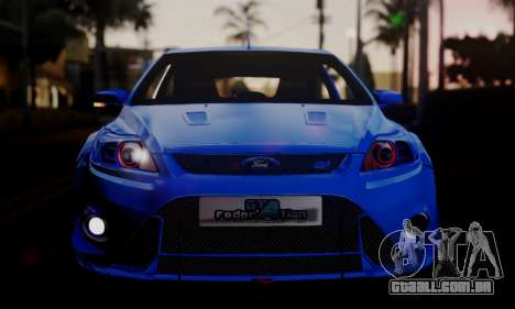 Ford Focus RS 2009 para GTA San Andreas esquerda vista